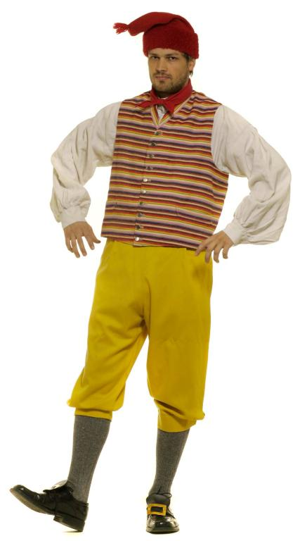 nissepige kostume Bornholm