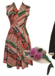 yvonne kjole udklædning