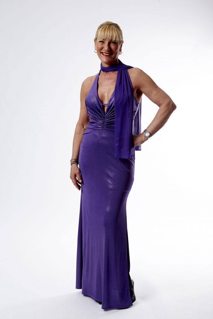 gallakjole purple diva